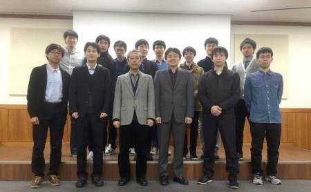 Tabata's lab at Kyoto University visited us for a joint workshop (2015.03.14-15).