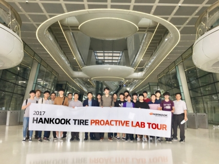 We visited Hankook tire technodome for proactive lab. tour and technical exchange meeting (2017.09.08).